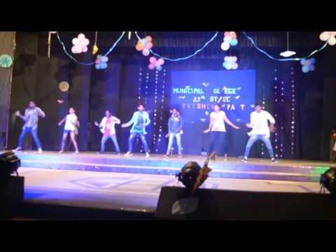 Likh delo re dile + bitgelak sawan bhado♡Latest Nagpuri stage dance☆Sadri viral video♡R M C College♡