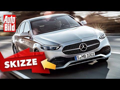 Mercedes C-Klasse Limousine (2021): Neuvorstellung - Skizze - Info