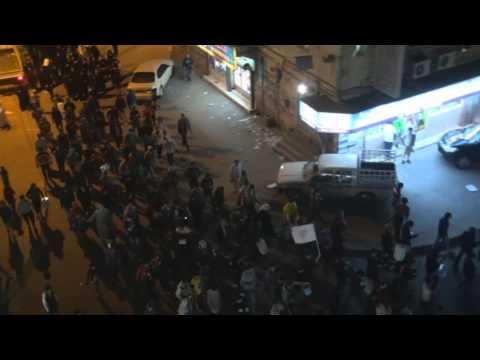 Bahrain | حشود كبيرة تضج بنداءات العزة في سترة واديان 10-2-2014