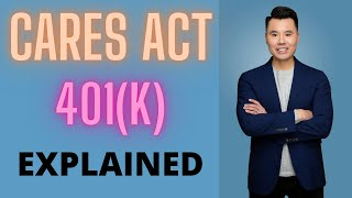 CARES Act 401(k) Explained - Penalty Free Withdrawal