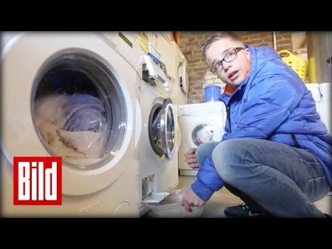 Kurioses Hobby: Hendrik sammelt Waschmaschinen