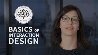 Basics Of Interaction Design