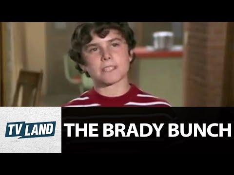 Peter Brady as Humphrey Bogart: 'Porkchops & Applesauce' | The Brady Bunch | TV Land