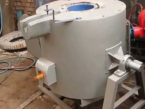 Crucible Melting Furnace for Foundry Lab
