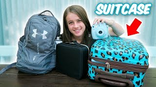 WHAT'S IN MY SUITCASE // Family Trip!!