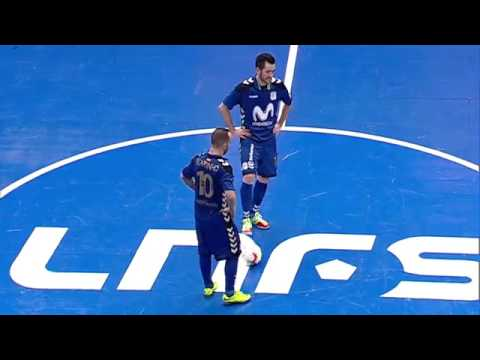 Spain League - Round 9 - Inter Movistar 5x2 Santiago Futsal