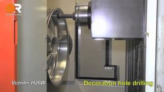 VCenter H26W - Bohren einer 24 Zoll Felge (24xJ10)