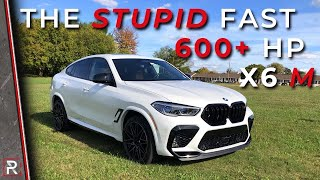 [Redline] The 2020 BMW X6 M Competition is a Stupid Fast 617 HP Coupified SUV
