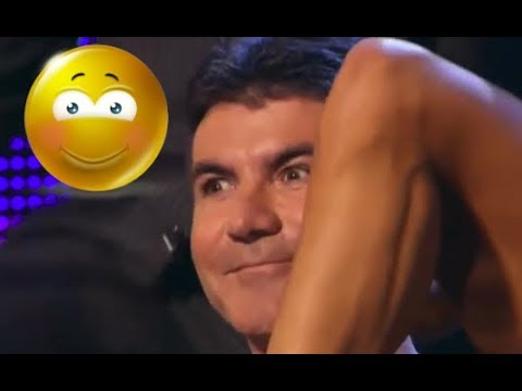 10 *SIMON COWELL'S MOMENTS* He Knows What Is He Doing! (видео)