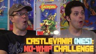 Castlevania NO Whip Challenge! James & Mike Mondays