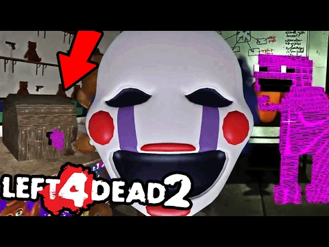 BURNING GOLDEN FREDDY TO DEATH || Left 4 Dead 2 FNAF 2 MOD w/Dawko