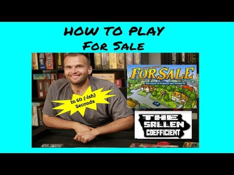 How to play For Sale in 60 (ish) seconds!