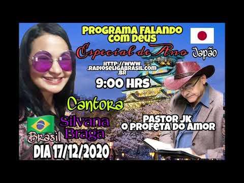 Do Japão para o mundo, Pastor Jk entrevista, Silvana Braga , com parti