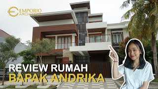 Video Construction Results Mr. Andrika Modern House 2 Floors Design - Tangerang