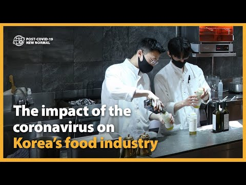 The impact of the coronavirus on Korea's food and beverage industry