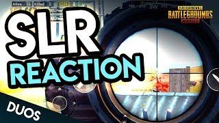 NEW SLR MARKSMAN RIFLE - REACTION - PUBG Mobile