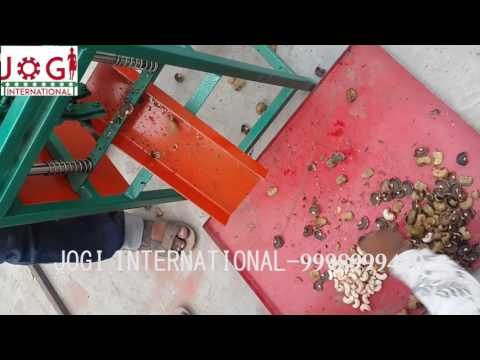 Manual Cashew Cutting Machine