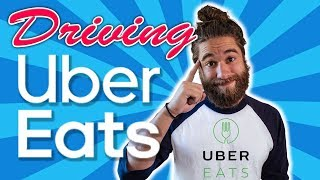 Driving For Uber Eats - EVERYTHING You Need To Know