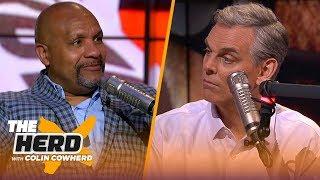 Hue Jackson talks Giants starting Daniel Jones, Browns offensive line and more   NFL   THE HERD