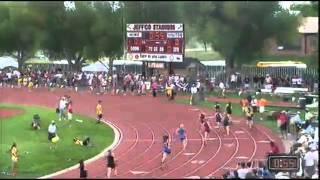Cedaredge High School Girls break the CHSAA Class 3A 4X200 Meter Relay at 2012 Track