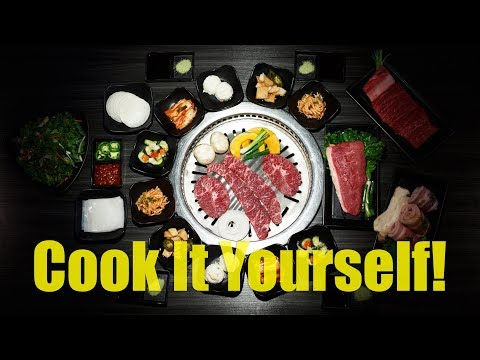 Paying To Cook My Own Food At GEN Korean BBQ