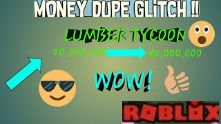 Lumber Tycoon 2 HOW TO DUPE MONEY[2018]
