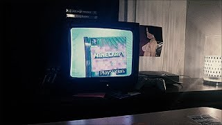 Demakes on a CRT TV
