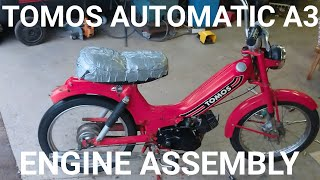 TOMOS AUTOMATIC A3 ENGINE ASSEMBLY