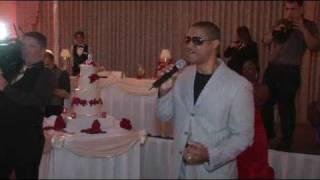 Greatest Wedding Surprise Serenade Ever - Tony Terry!!!!!