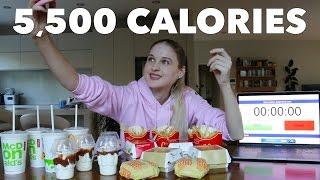 Girl Eats $40 McDonald's Mega ShareBox