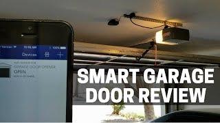 MyQ Chamberlain Smart Garage Door Setup & Review + HomeKit