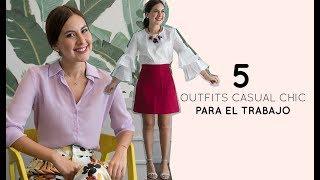 5 Outfits Casual-chic Para El Trabajo En Verano ☀️✨- TANA RENDÓN