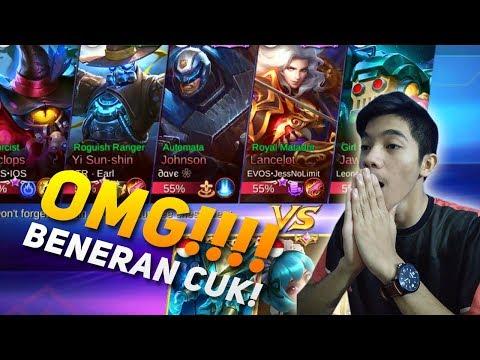 OMG!!! ANSEL BISA NGALAHIN JESS NO LIMIT DI RANKED! GGWP - MOBILE LEGEND INDONESIA