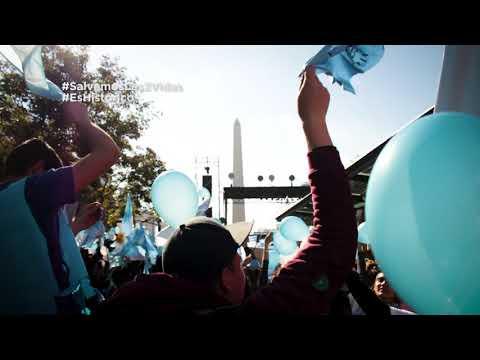 Resumen #SalvemosLas2Vidas en el Obelisco | 4 de agosto 2018