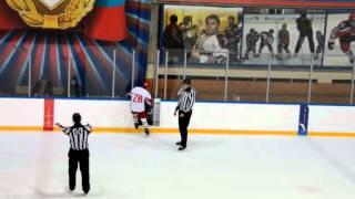 ОПМ 2015/2016. ЦСКА - Локомотив; 3:2. 3й период. Детский хоккей (2003)