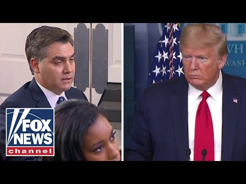 Trump argues with CNN's Jim Acosta over voter fraud