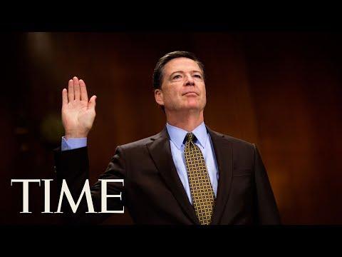 James Comey responde ante el comité de inteligencia del Senado