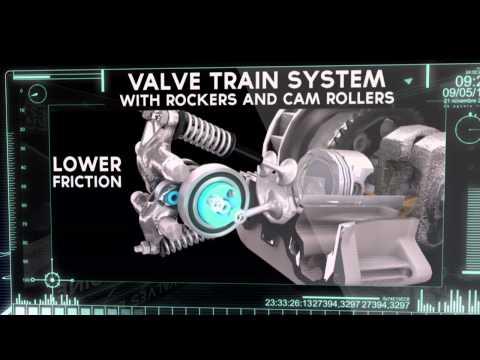 Vespa 3 Valve Engine