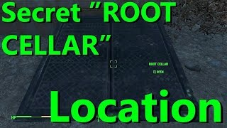 "Fallout 4 | Secret ROOT CELLAR in ""Sanctuary"" Location"