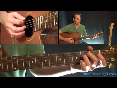 Eleanor Rigby Guitar Chords Lesson (Easy Beginner Guitar) - The Beatles