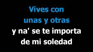 Y Sin Embargo Te Quiero -  Concha Piquer  - Karaoke  - Letra