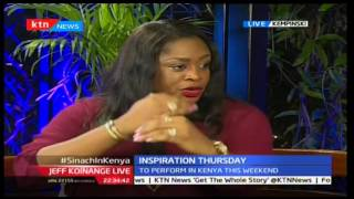 Jeff Koinange Live : Inspiration Thursday, Sinach in Kenya (Part 2) November 24, 2016