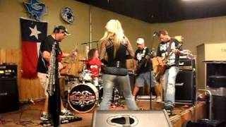 Blacklace covering Wheels of Fire by Judas Priest