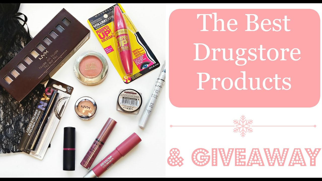 The Best Drugstore Products  (Blogmas Day 15)