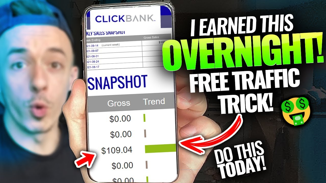 How To Generate Income Online Free Of Charge ($ 450 DAILY!) Utilizing Clickbank (Free Traffic HACK!) thumbnail