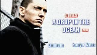 *NEW 2011* Eminem ft Kanye West wiz Khalifa - A Drop In The Ocean *HD*