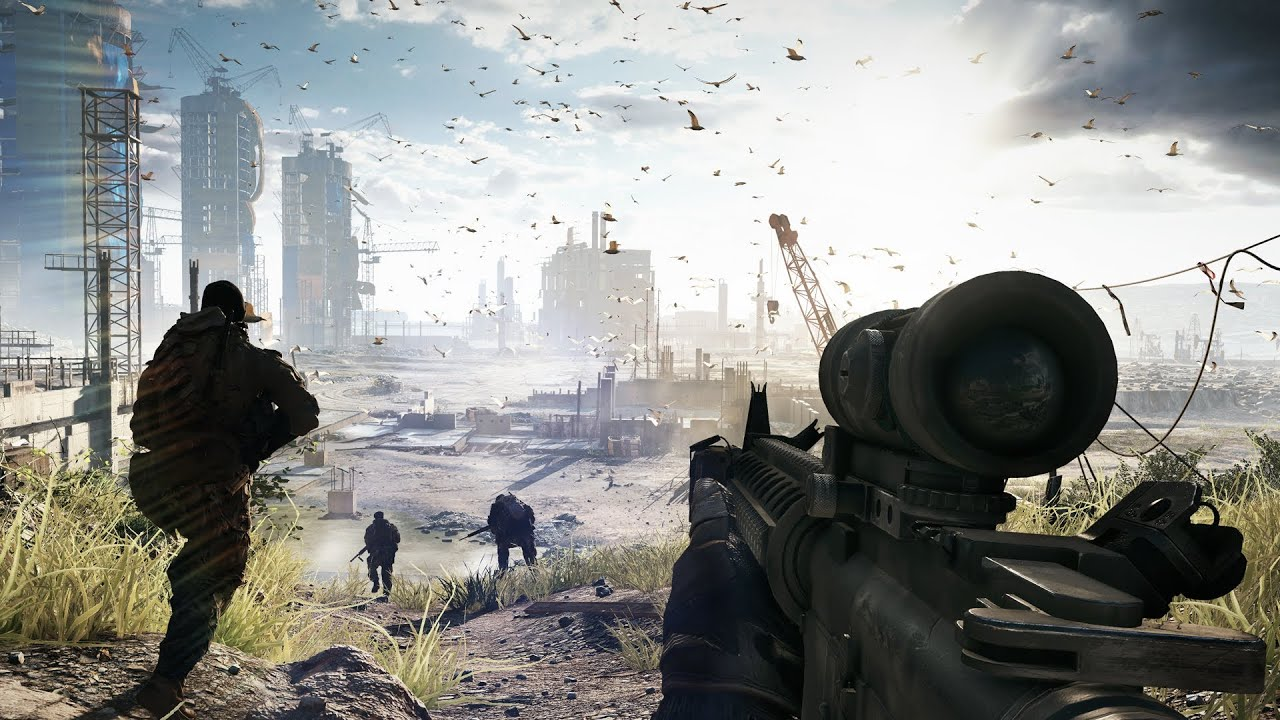 Watch 17 Minutes Of Battlefield 4 Gameplay, Right Here