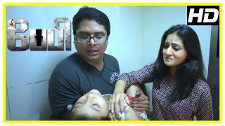 Baby Tamil movie scenes | Shira refuses to believe Manoj about spirit | Manoj and Shira part ways