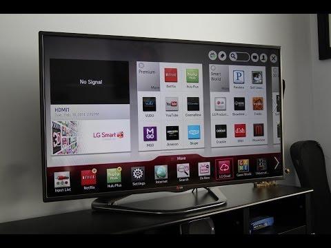 LG 3D Smart TV Features Demo LA6200 & LA6205 Series