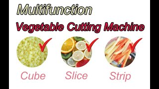 multifunction vegetable cutting machine/how to install vegetable cutting machine